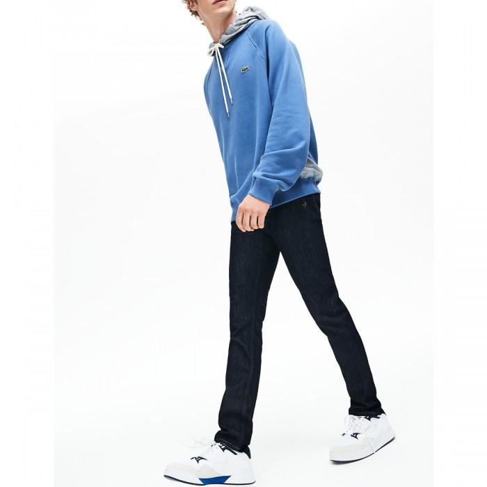 LACOSTE Men's Slim Fit Stretch Denim 5-Pocket Jeans - @@3HH7510