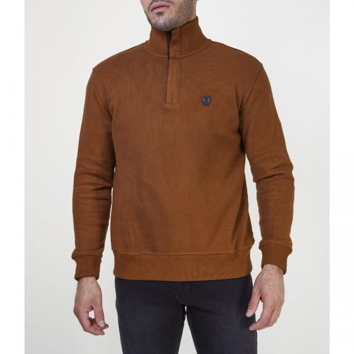 THE BOSTONIANS ανδρική φούτερ μπλούζα με φερμουάρ - 3RO1129