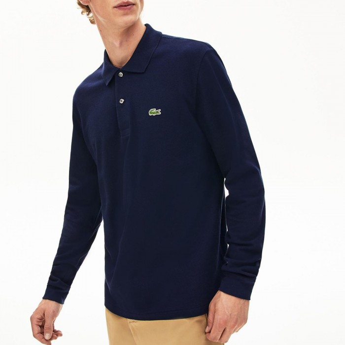 LACOSTE Long-Sleeve Lacoste Classic Fit L.12.12 Polo Shirt - 3L1312