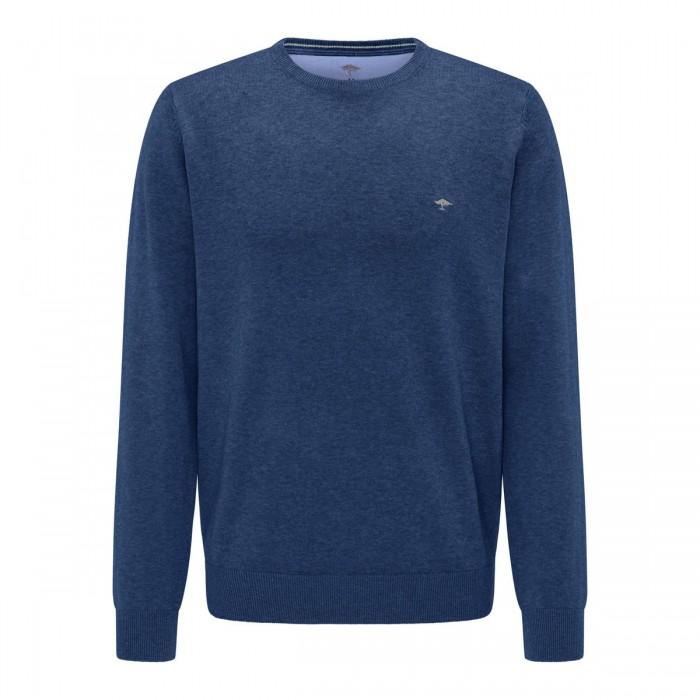 FYNCH HATTON Cotton Fine-Knit Jumper - 1220  210