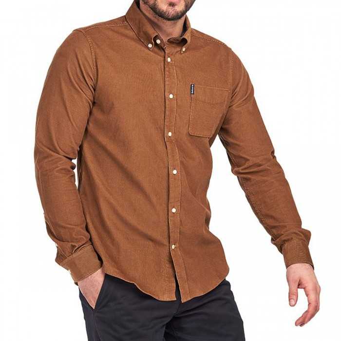 BARBOUR CORD 2 TAILORED SHIRT - 3BRMSH4761