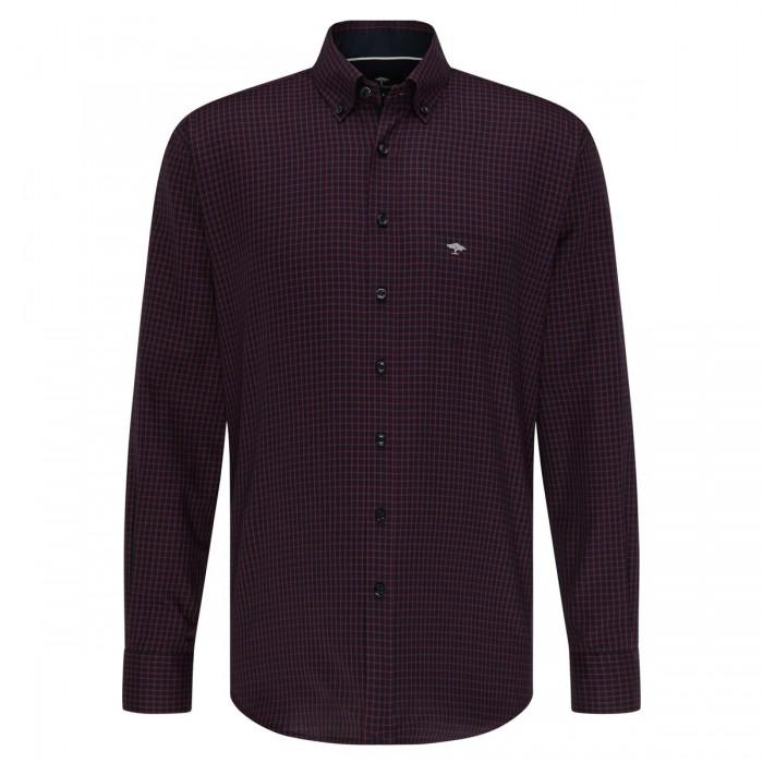 FYNCH HATTON Casual-Fit Cotton Shirt - 1220  8020