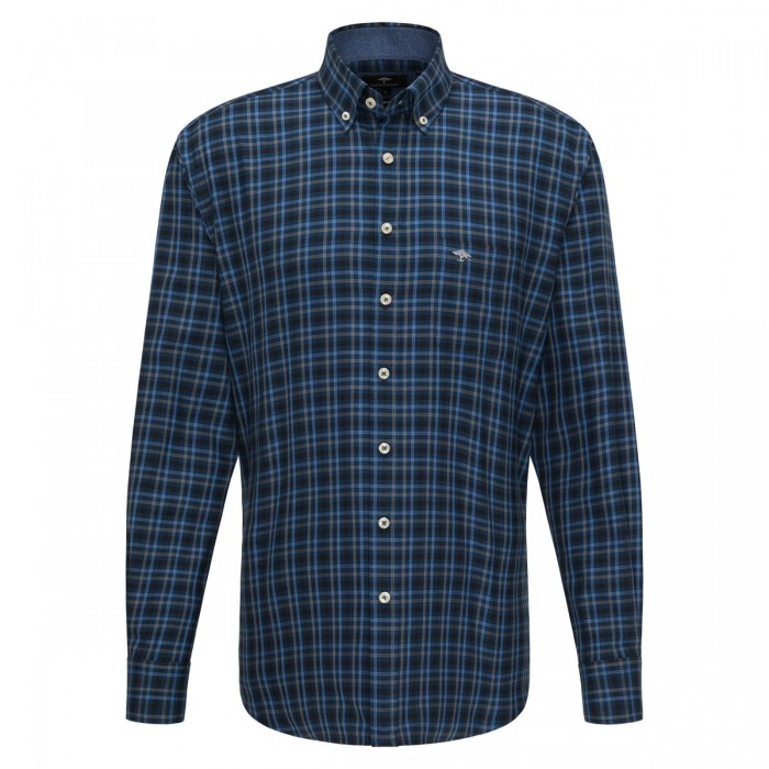 FYNCH HATTON Casual-Fit Check Shirt - 1220  8090