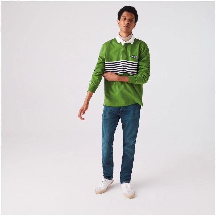 LACOSTE Men's Slim Fit Stretch Denim 5-Pocket Jeans - 1@3HH7510
