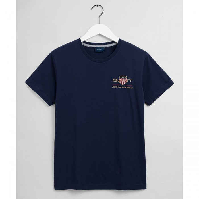 GANT Archive Shield Embroidered T-Shirt - 1@3G2003081