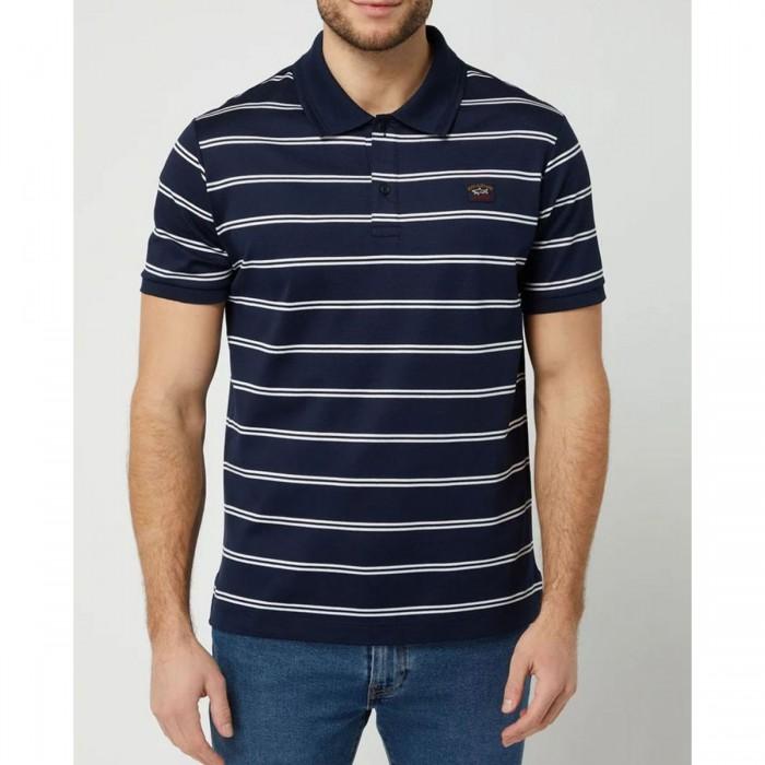 Men's Organic Cotton Polo Shirt - 21411266 - PAUL & SHARK