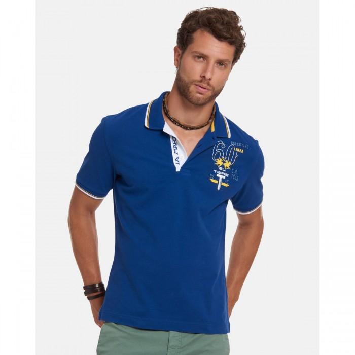 LA MARTINA Regular-fit Stretch Cotton Polo Shirt - 3LMRMP309