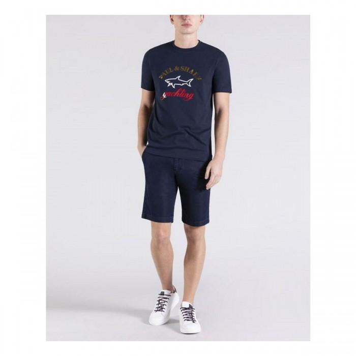 Men's Organic Cotton T-Shirt - 21411042 - PAUL & SHARK