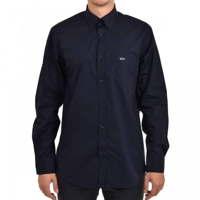 Men's Cotton Poplin Shirt - COP3001 - PAUL & SHARK