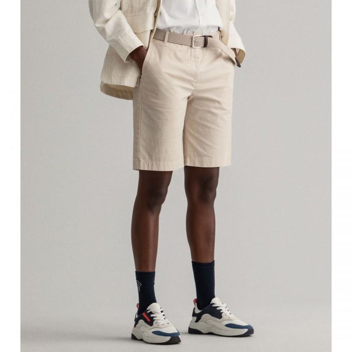 GANT Regular Fit Sunfaded Chino Shorts - 3GW4020048