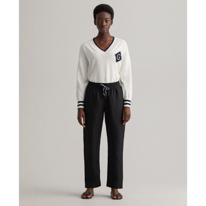 GANT Linen Pull-On Pants - 3GW4150177