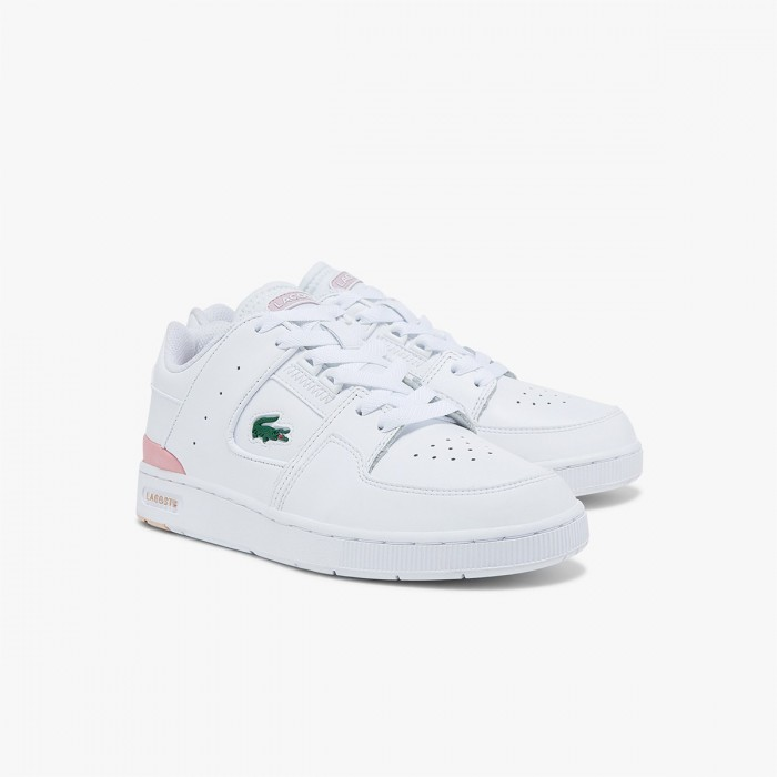 LACOSTE Women's Court Cage Leather and Synthetic Sneakers - 37-41SFA00561Y9