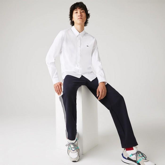LACOSTE Men's Regular Fit Premium Cotton Shirt - 2@3CH2933