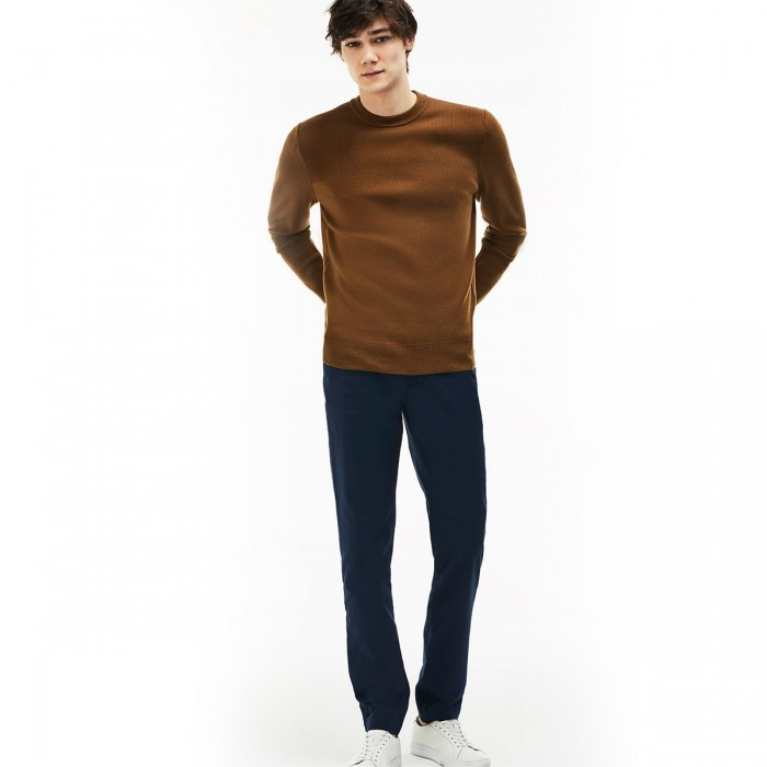 LACOSTE Men's Slim Fit Stretch Gabardine Chino Pants - 2@3HH9553