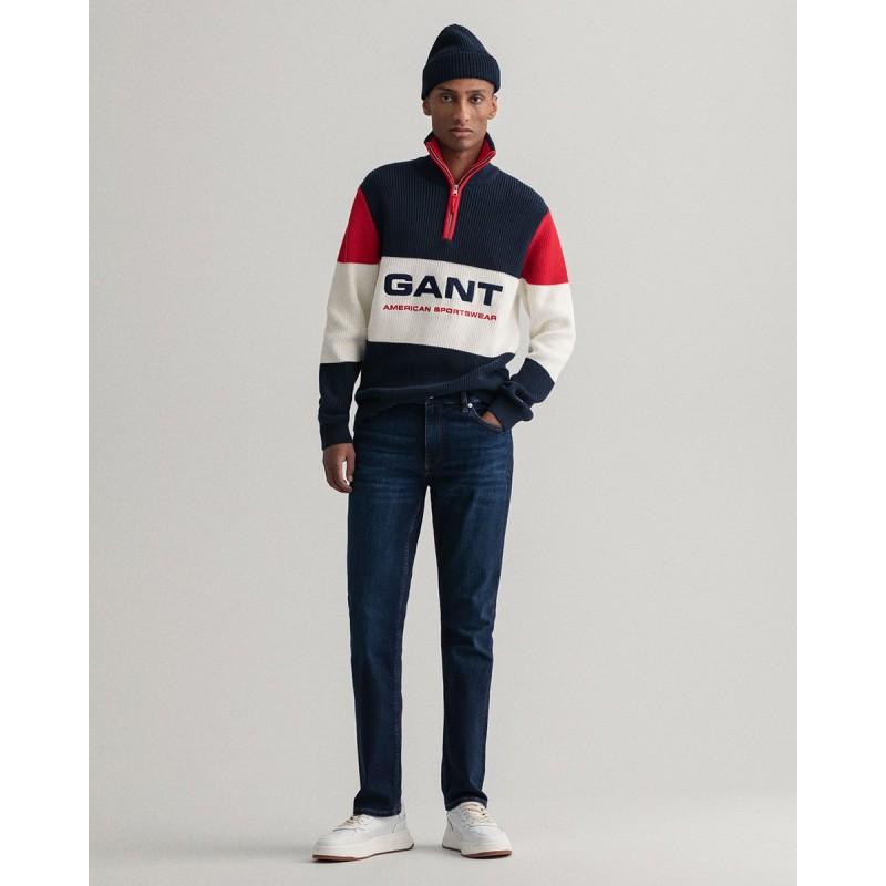 GANT Maxen Extra Slim Fit Retro Shield Jeans - 3G1000296-34