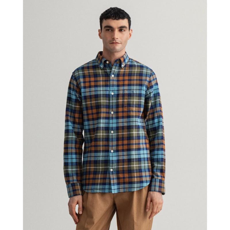 GANT Regular Fit Check Flannel Shirt - 3G3016670