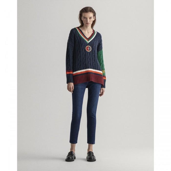 GANT Farla Slim Fit Cropped Jeans - 3GW4100104