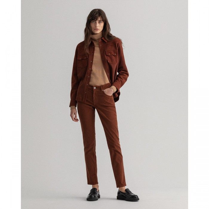 GANT Farla Slim Fit Corduroy Jeans - 3GW4100144-32