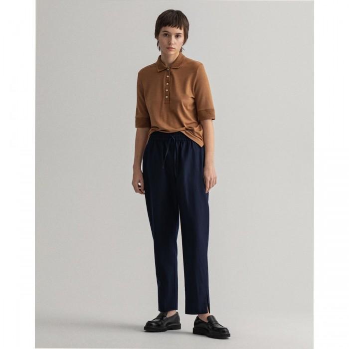 GANT Wool-Blend Pull-On Pants - 3GW4150194