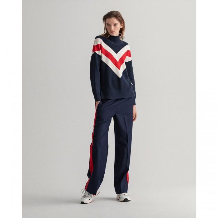 GANT Wool-Blend Straight Leg Slacks - 3GW4150197
