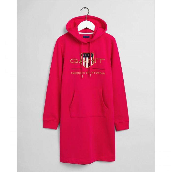 GANT Archive Shield Hoodie Dress - 3GW4204361