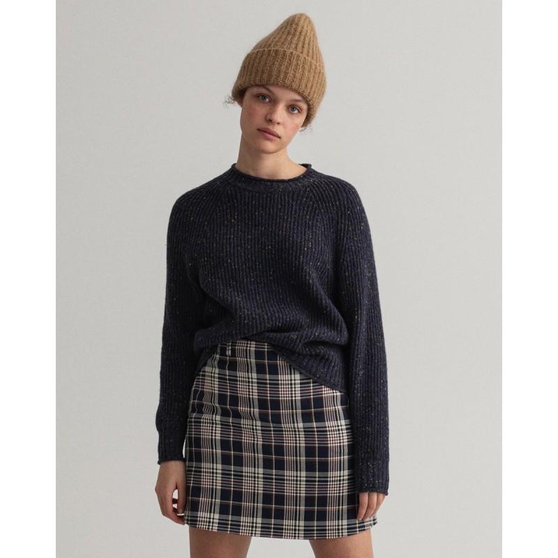 GANT Neps Crew Neck Sweater - 3GW4803122