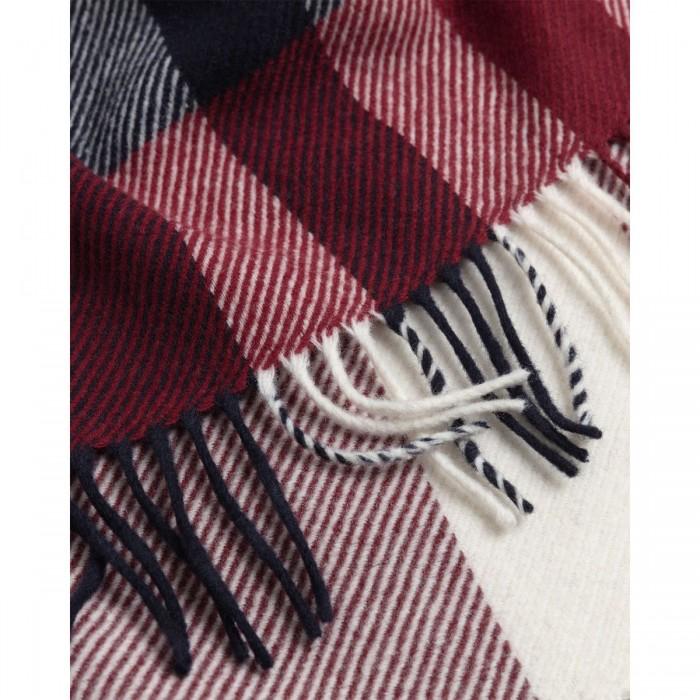 GANT Big Check Wool Scarf - 3GW4920145