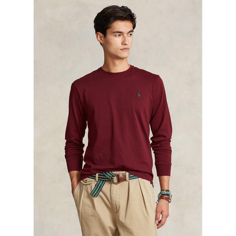 Jersey Long-Sleeve T-Shirt - All Fits - 710671468041 - POLO RALPH LAUREN