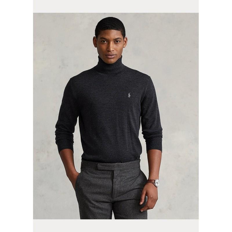 Washable Wool Turtleneck Sweater - 710771090004 - POLO RALPH LAUREN