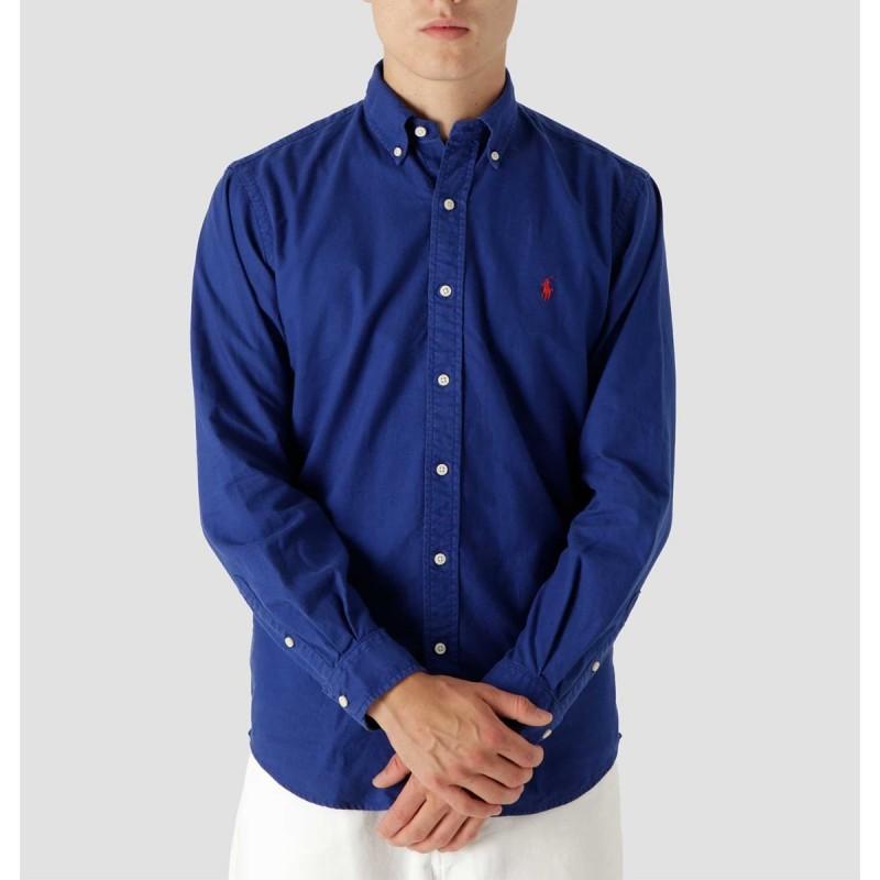 Oxford Shirt Sporting Royal - 710805564019 - POLO RALPH LAUREN