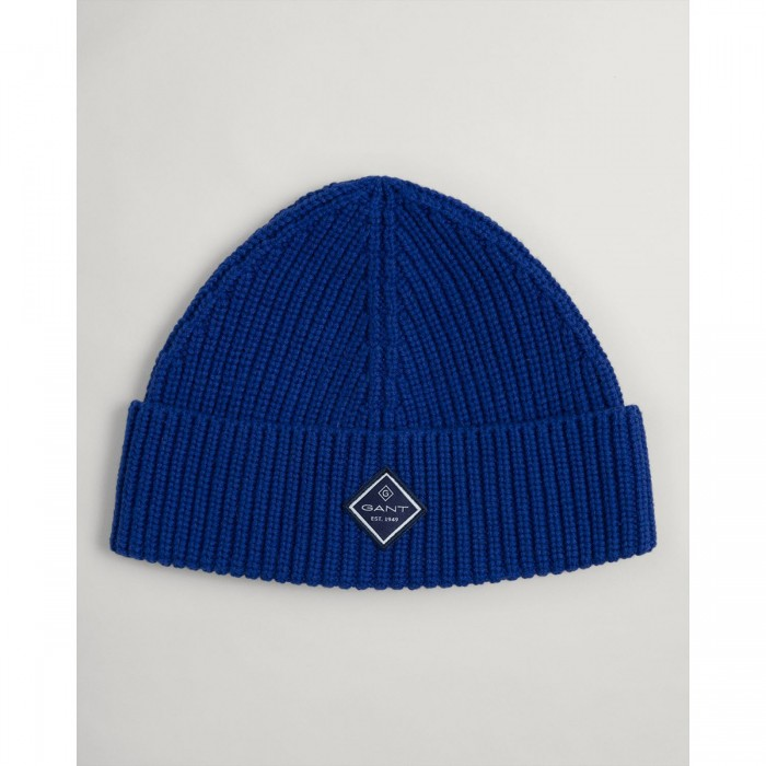 GANT Cotton Ribbed Knitted Hat - 2@3G9910007