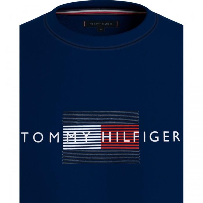 LINES HILFIGER CREWNECK - MW0MW20118 - TOMMY HILFIGER