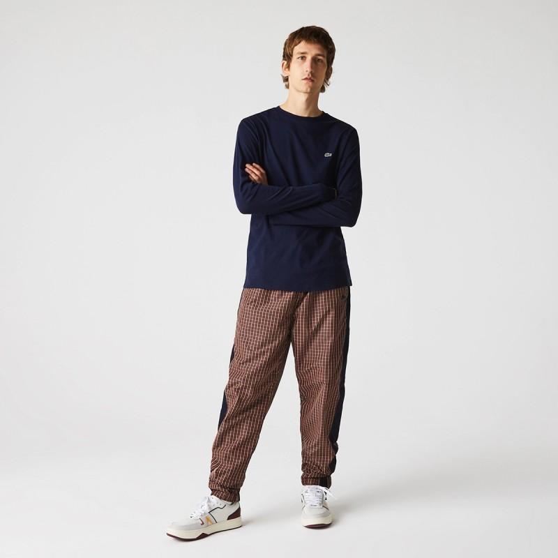 LACOSTE Men's Crew Neck Pima Cotton Jersey T-shirt - 2@3TH6712