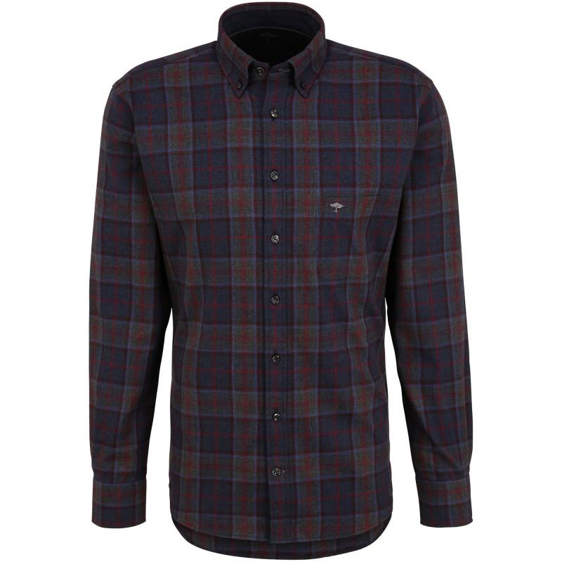 SHIRTS Flannel Check, B.D., 1/1 - 1221  6040 - FYNCH HATTON