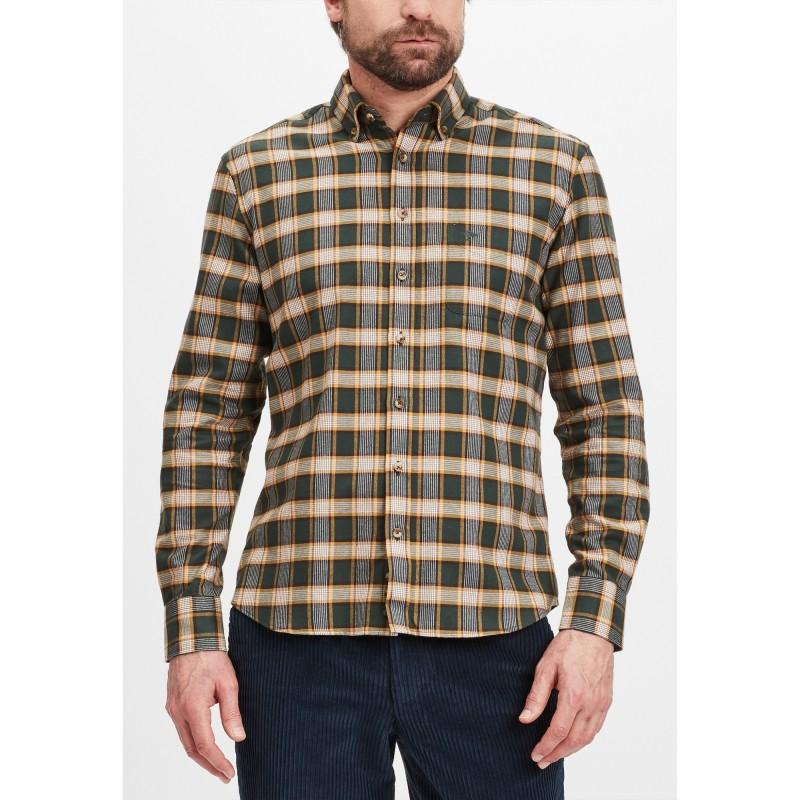 SHIRTS Soft Peached Flannel, B.D., 1/1 - 1221  8130 - FYNCH HATTON