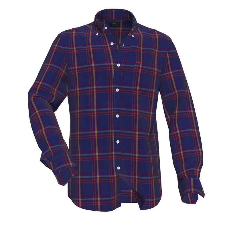 SHIRTS Heavy Flannel, B.D., 1/1 - 1221  8170 - FYNCH HATTON