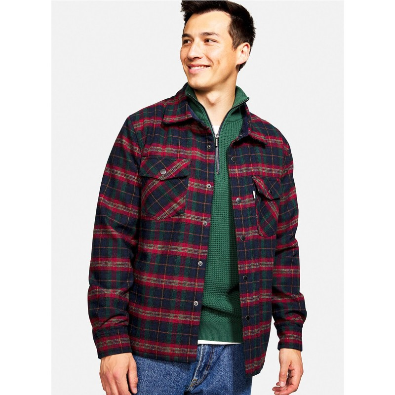 CHECKED WORKER JACKET - 9221-602 - COLOURS & SONS
