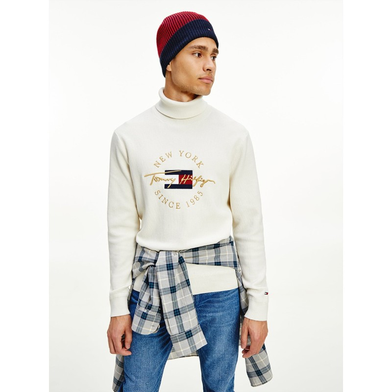 ICON STRUCTURE ROLL NECK - MW0MW19572 - TOMMY HILFIGER