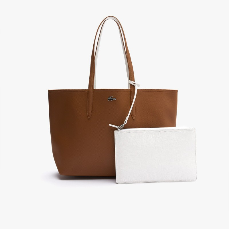 LACOSTE Women's Anna Reversible Bicolour Tote Bag - 2@3NF2142AA
